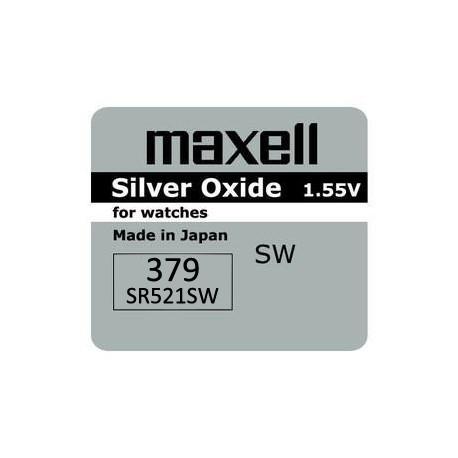 Bateria Maxell SR 521, 379 AG0