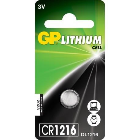 Bateria GP CR 1216-U5
