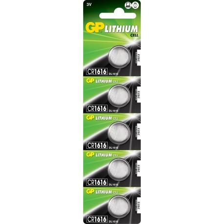 Bateria GP CR 1616-U5