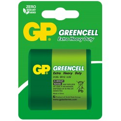 Bateria GP Greencell 3R12 312G-U1