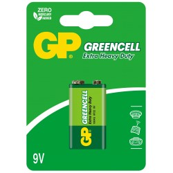 Bateria GP Greencell 6F22 1604G-U1