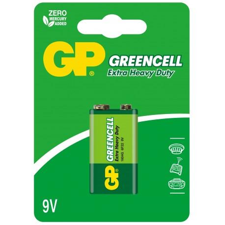Bateria GP Greencell 6F22 1604G-U1