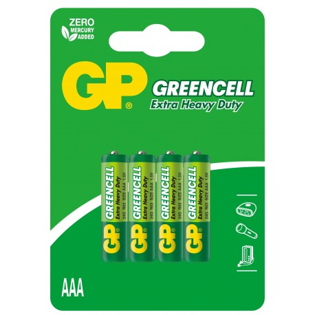 Bateria GP Greencell R03 24G-U4
