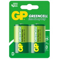 Bateria GP Greencell R20 13G-U2
