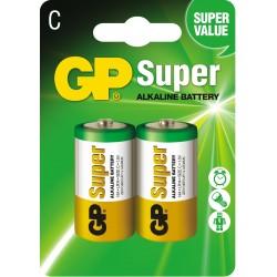 Baterie GP Super Alkaline LR14 14A-U2