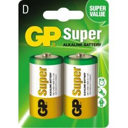 Baterie GP Super Alkaline LR20 13A-U2