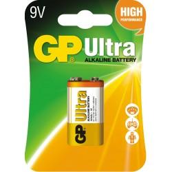 Baterie GP Ultra Alkaline 6F22 1604AU-U1