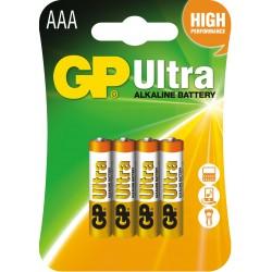 Bateria GP Ultra Alkaline LR03 24AU-U4