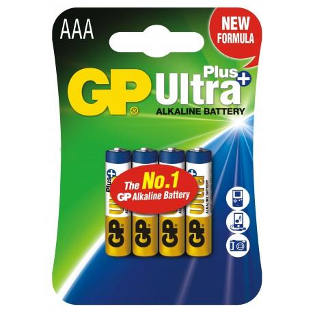 Bateria GP Ultra Alkaline LR03 24AUP-U4