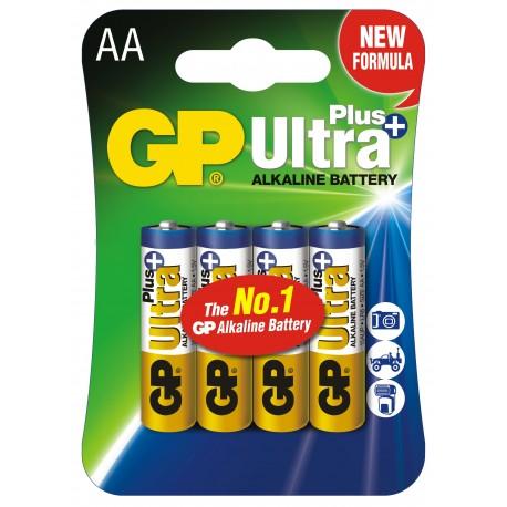 Bateria GP Ultra Alkaline+ LR06 15AUP-U4 4+2 (BLISTER)