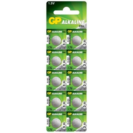 Bateria GP zegarkowa A76-U10, LR44, AG13