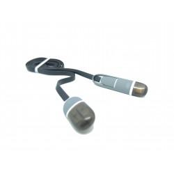 Kabel USB-Micro USB/ iPhone 2A 1m Libox LB