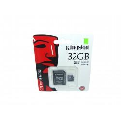 Karta microSD 32GB kl. 10 + adapter