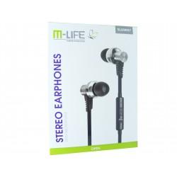 Słuchawki SLU-0057 + mikrofon M-life