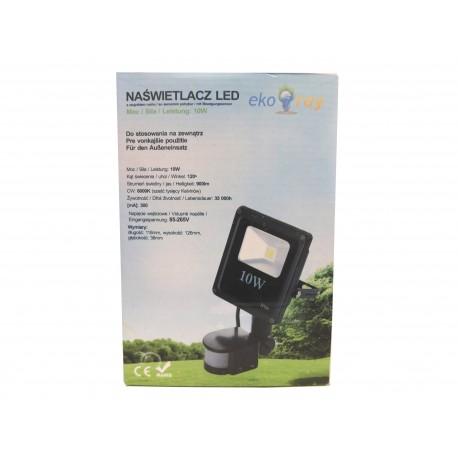 Eko naświetlacz LED 10W z czujnikiem