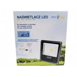 Eko naświetlacz LED 20W bez czujnika