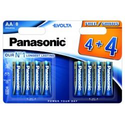 Bateria Panasonic EGE LR6EGE/8BW 4+4 (blister)